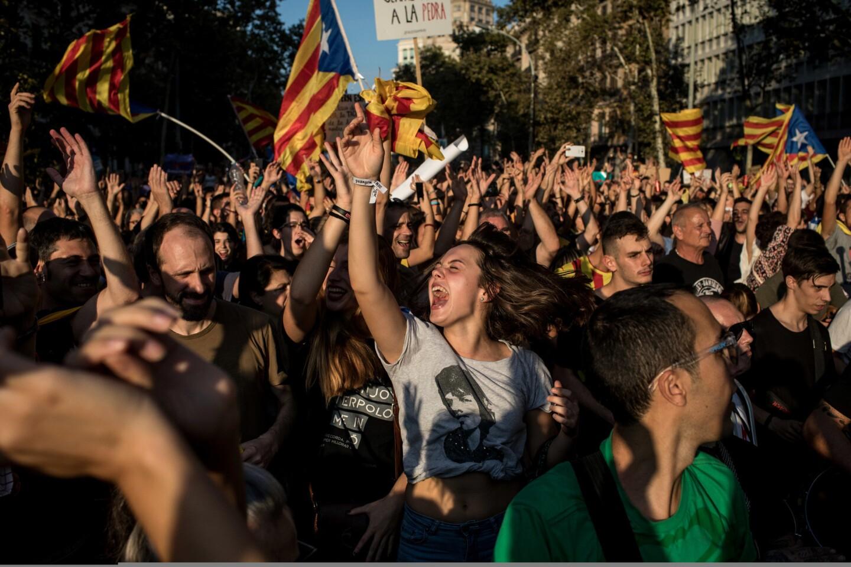 Identity crisis in Spain's Catalonia region