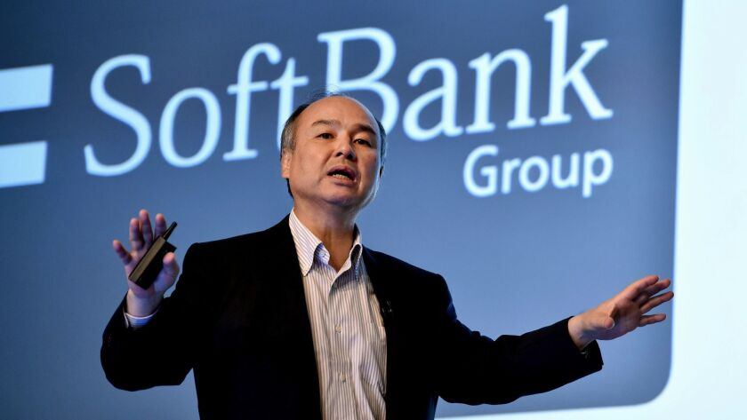 SoftBank Chief Executive Masayoshi Son