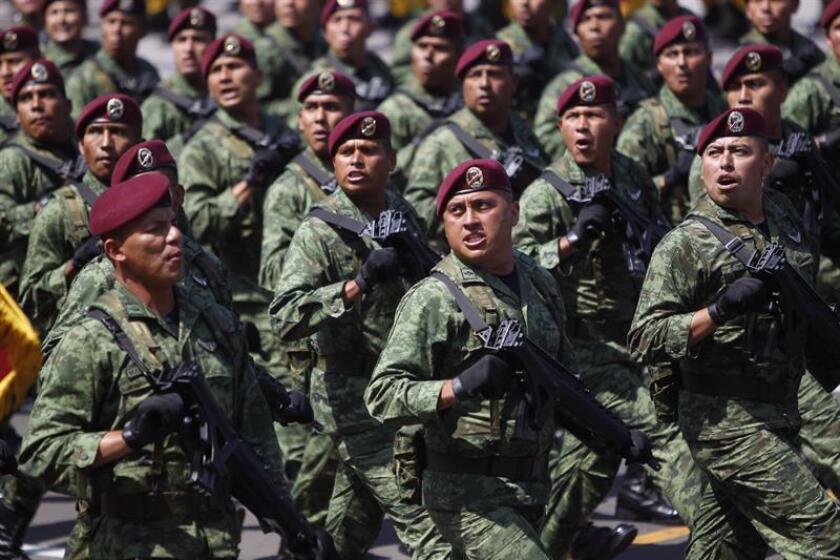 Militares y agentes federales protegerán a candidatos a Presidencia de México