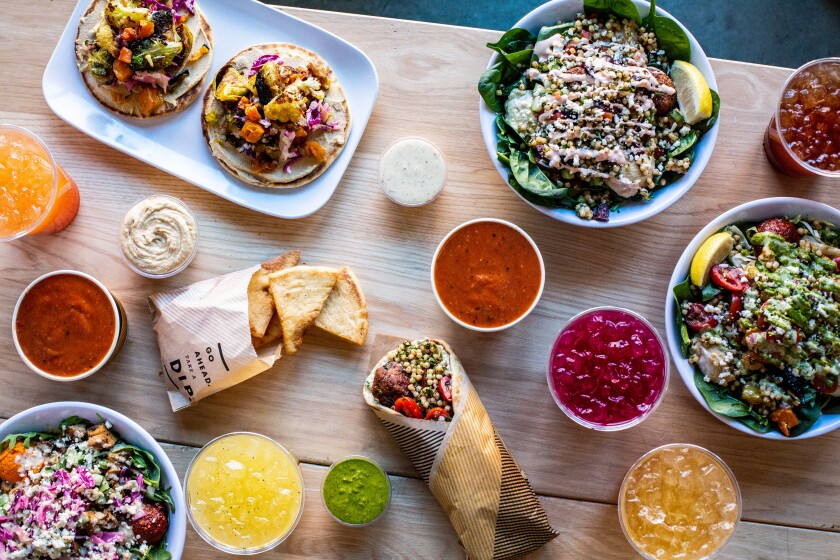Make your own Mediterranean: build a bowl or load a pita at One Paseo's CAVA.