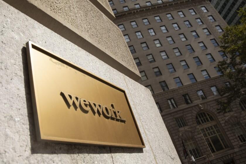WeWork Financing