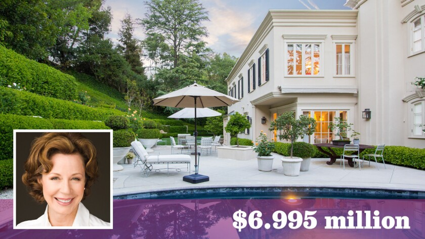 Interior designer Barbara Barry bought the home in the Beverly Hills post office area nearly a decade ago for $5.44 million.