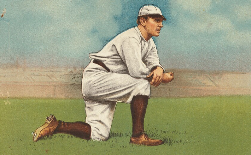 John McGraw, former player and manager of the New York Giants.