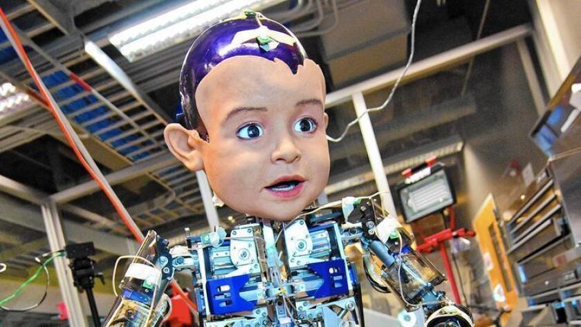 El Contextual Robotics Institute fue dado ha conocer el viernes en la Universidad de California-San Diego, en donde un robot experimental ha sido usado el proyectos de investigación.