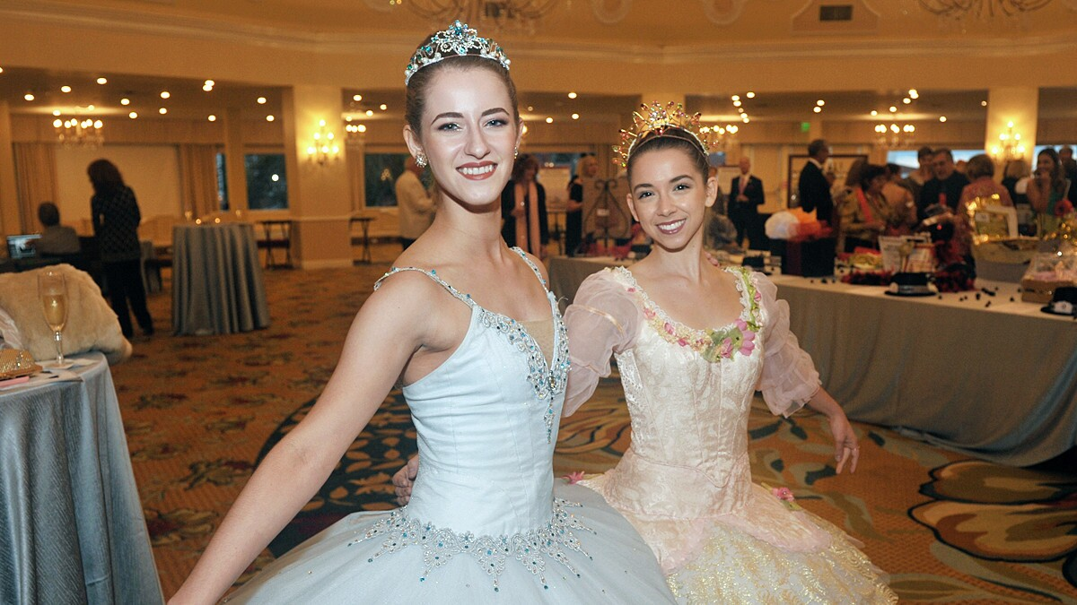 Among tutus and pointe shoes, San Diego's own Mario Lopez emceed an Oct. 13, 2018 celebration of the City Ballet's award-winning performances and inspirational outreach programs, which benefit more than 10,000 local youths each year.