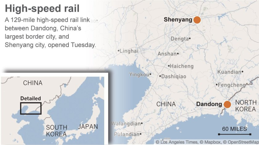 High speed rail in China and North Korea