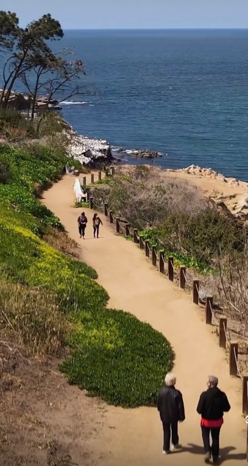 J. McLaughlin on Girard Avenue will host a fundraiser April 23-25 for the nonprofit Friends of Coast Walk Trail.