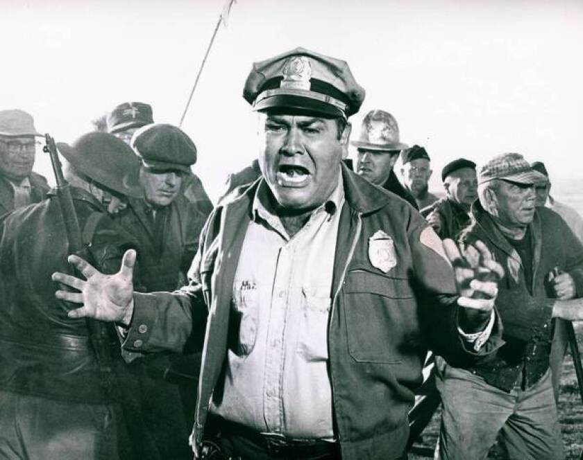 """Jonathan Winters stars in the comedy-drama """"The Russians Are Coming, the Russians Are Coming."""""""