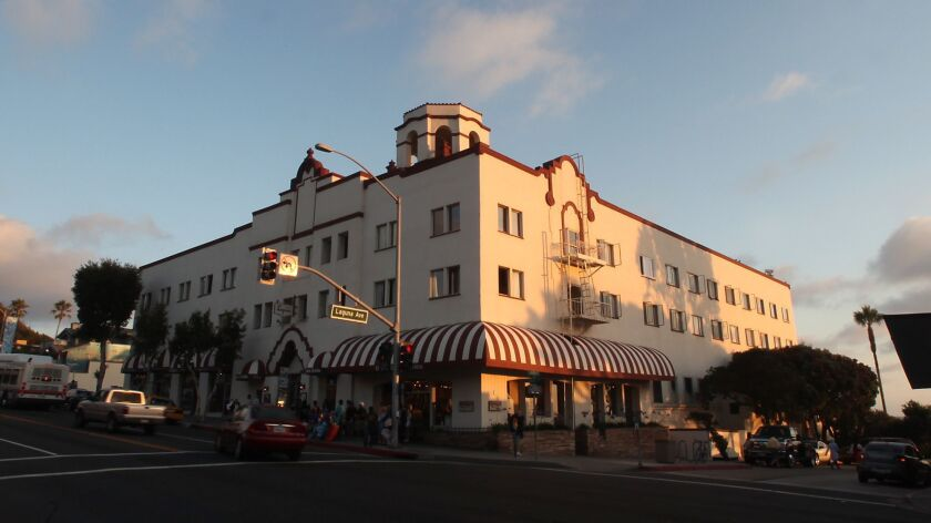 Hotel Laguna, which originated in the 1880s and was rebuilt in its current form in 1930, has been closed for the past year.