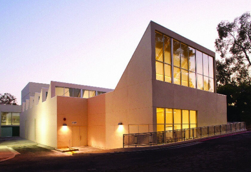 The new art studio building at the California Institute of the Arts in Valencia has been named after John Baldessari.