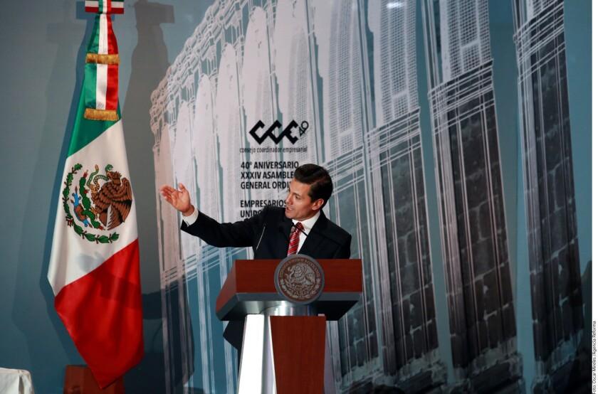 En una reunión privada, líderes evangélicos plantearon al Presidente Enrique Peña Nieto que en Estados Unidos 20 mil iglesias están dispuestas a apoyar a migrantes mexicanos.