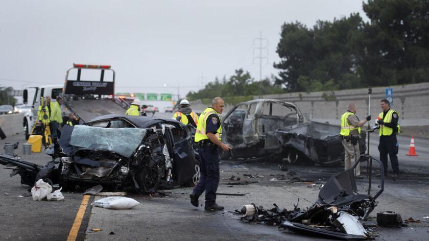 Accidentes mortales en carreteras