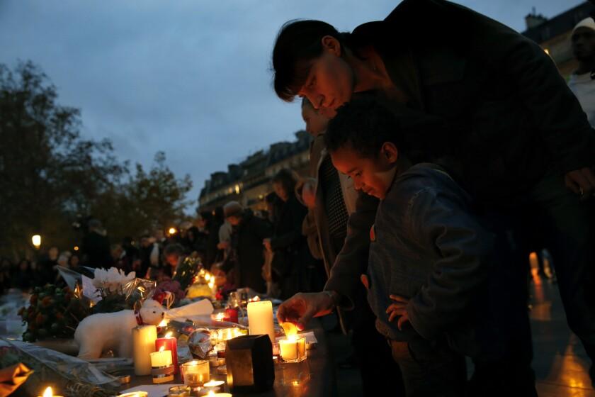 France mourns