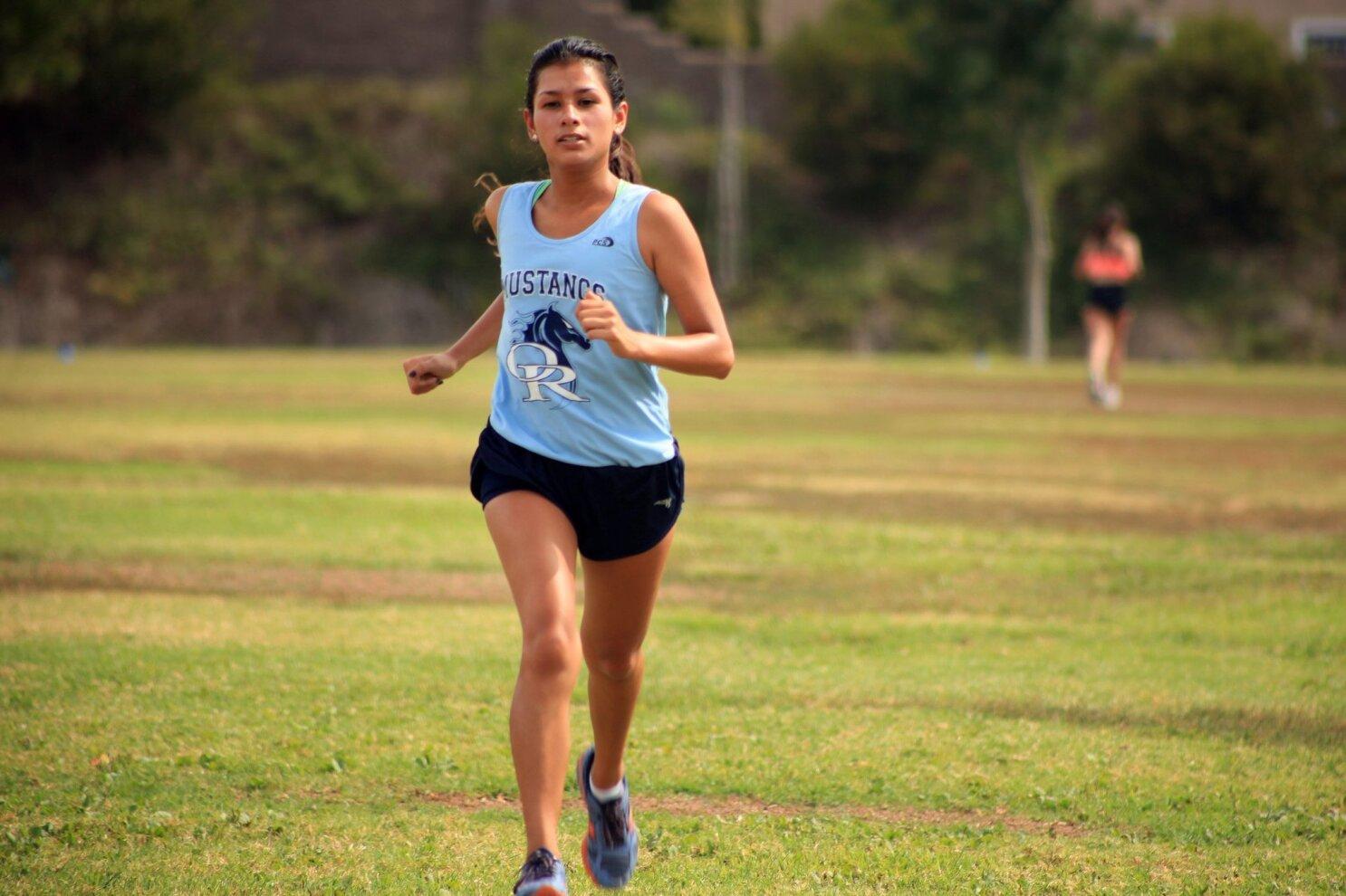 Ana Maria Lepe 2013 all-academic girls cross country team - the san diego