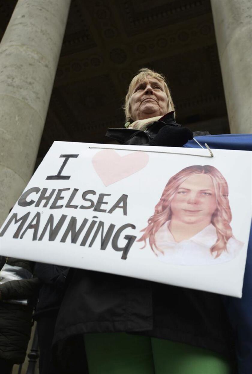El presidente, Barack Obama, anunció hoy la conmutación de la pena a la exsoldado Chelsea Manning, quien en 2010 filtró un número récord de documentos secretos a WikiLeaks mientras era analista de inteligencia militar. EFE/ARCHIVO