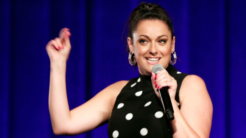 """""""Celeste Barber: Challenge Accepted,"""" a new comedy special on Showtime."""