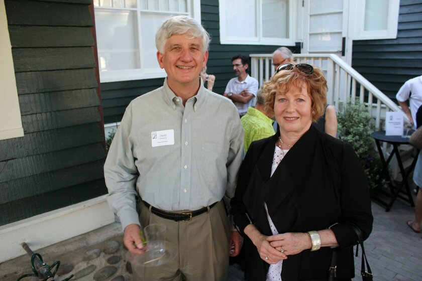 Former La Jollan David Goldberg lives in an historic Craftsman home in Point Loma and La Jolla Realtor Linda Marrone, who serves on the city's Historical Resources Board, lives in an historic English Tudor Revival-style home designed by master architect Edgar Ullrich in 1935.
