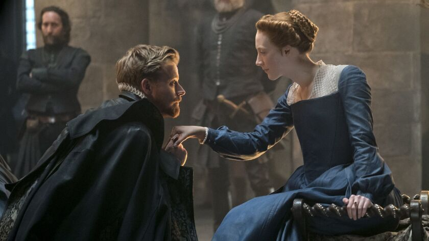 Jack Lowden stars as Lord Darnley and Saoirse Ronan as Mary Stuart.