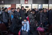 La mayor migración humana arranca con el nuevo Año del Cerdo en el horizonte