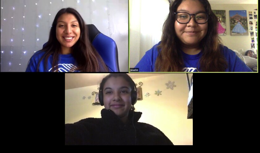 Boys & Girls Clubs of San Dieguito stays connected over Zoom.