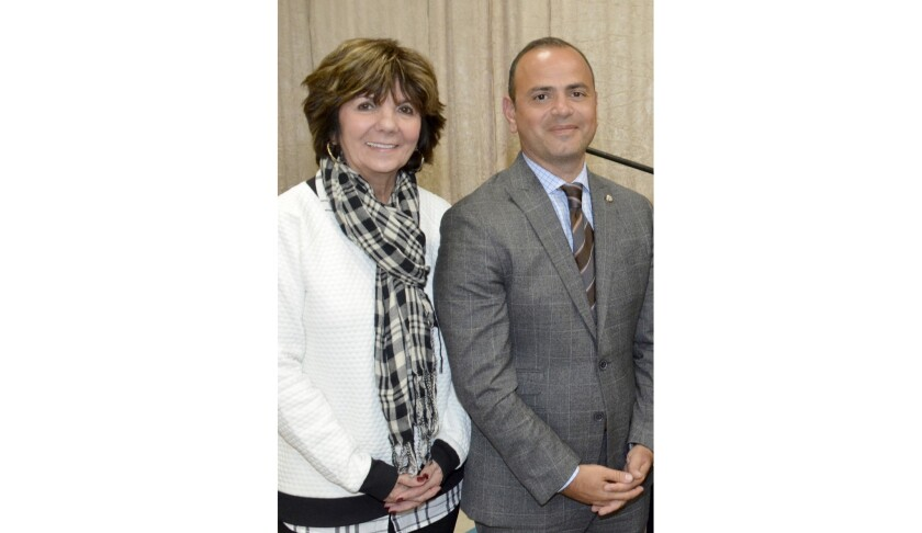 Glendale Councilmember Paula Devine and Mayor Zareh Sinanyan were among the dignitaries in attendanc