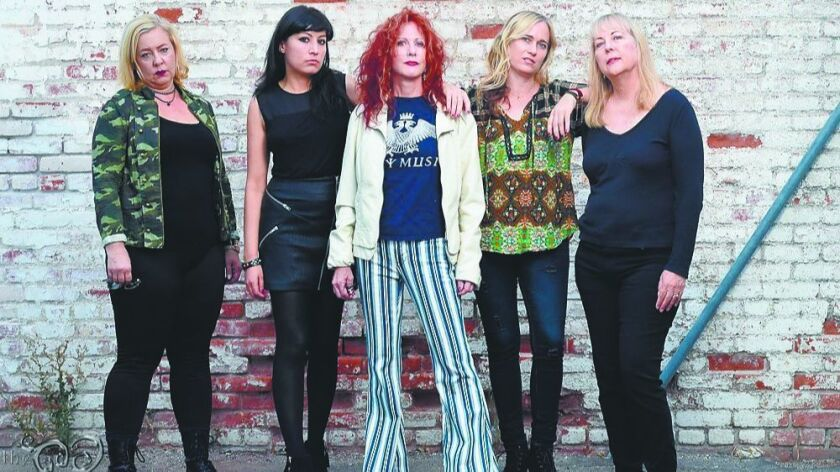 The Dinettes will perform at the Adams Avenue Street Fair. Lead singer Doriot Lair and keyboardist S