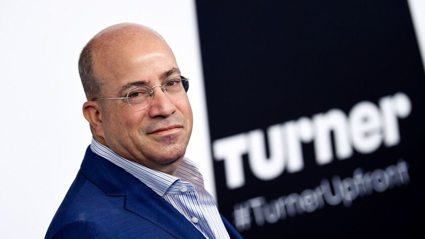 CNN president Jeff Zucker attends the Turner Network 2017 Upfront presentation at The Theater at Mad
