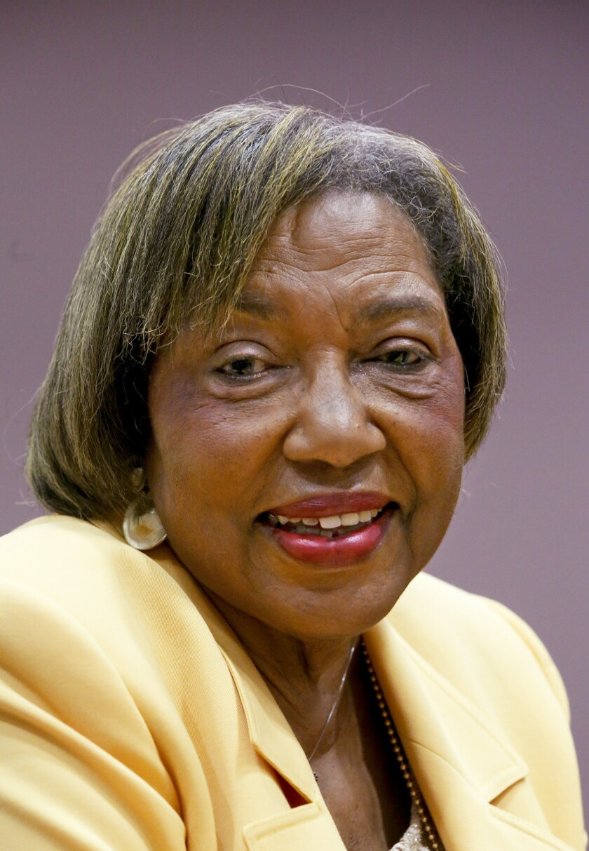 School board member Marguerite Poindexter LaMotte died this month.
