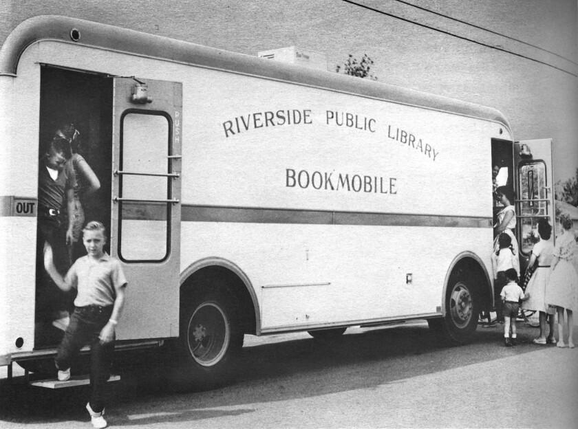 Riverside bookmobile