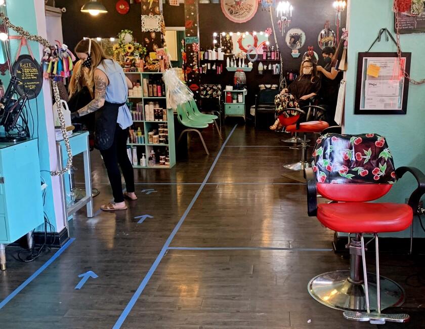 Rockabetty's Hair Parlor in Yuba City