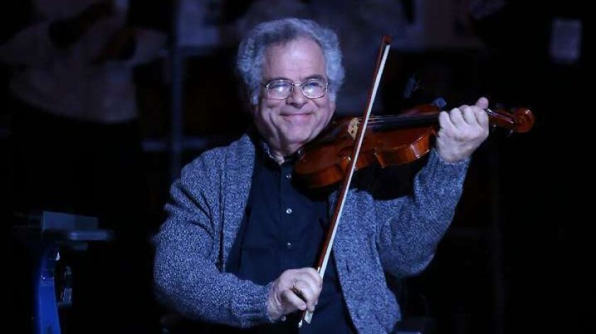 Itzhak Perlman to bring the klezmer music of his childhood to