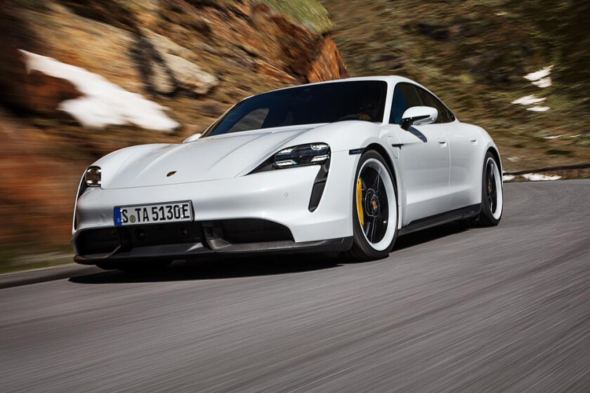 Porsche challenges Tesla with new Taycan all-electric sports
