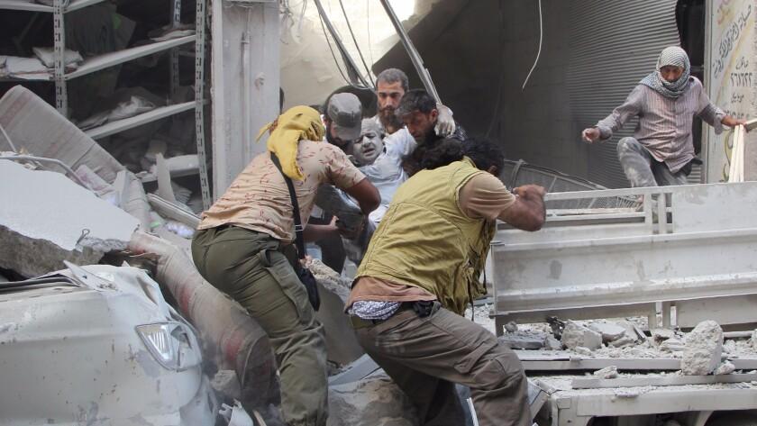 Syria fighting