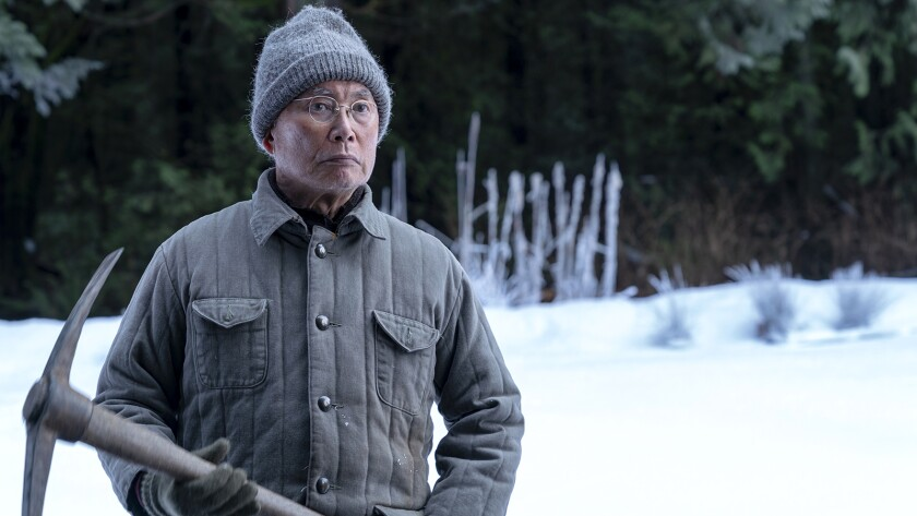 "George Takei in the second-season premiere of ""The Terror"" on AMC."