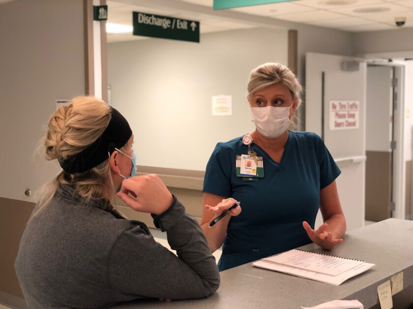 Mandy Hall is frontline nurse and director of emergency services at Phoebe Putney Memorial Hospital in Albany, Georgia