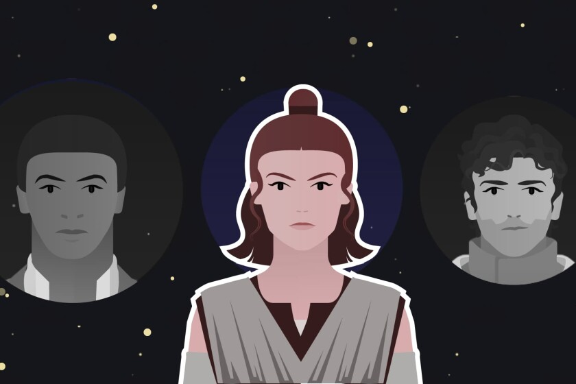 The Jedi Voices In Star Wars The Rise Of Skywalker Explained Los Angeles Times