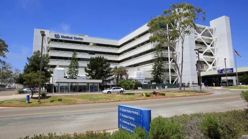 The La Jolla Veterans Affairs Medical Center in 2014.