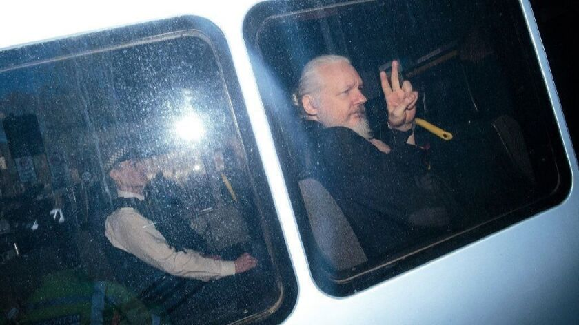 Ecuador seizes Assange's possessions after US request