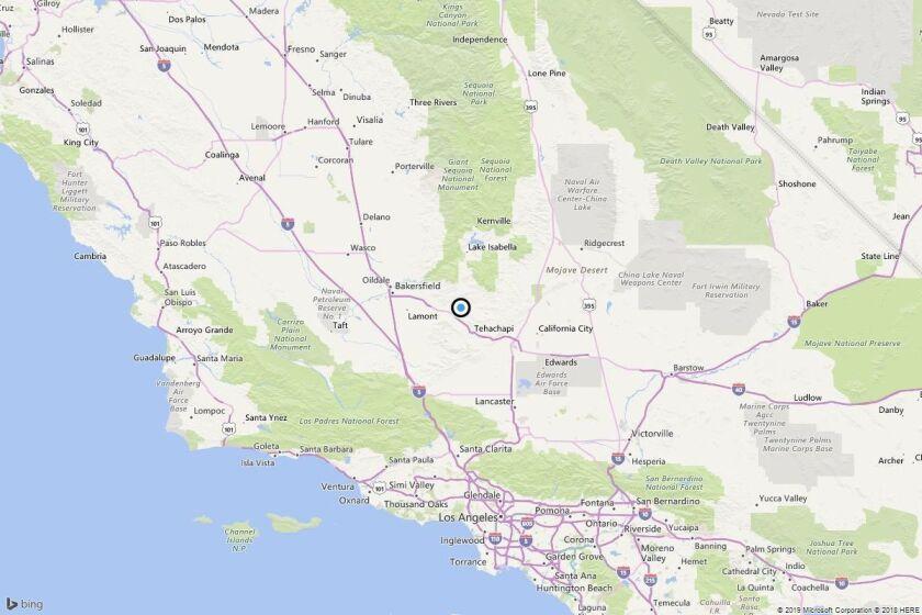 Earthquake: 3.4 quake strikes near Fig Orchard, Calif.