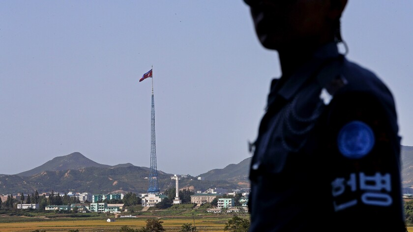 Panmunjom As Tension Between US And North Korea Escalates