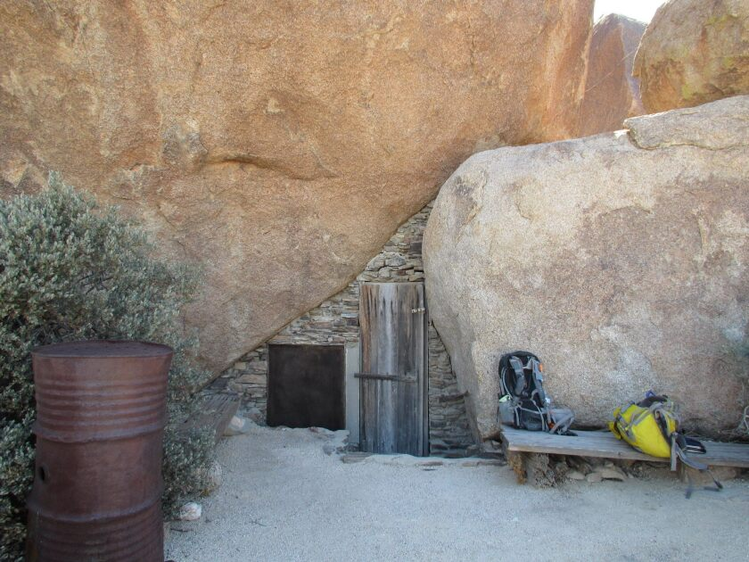 Carey's Castle, an abandoned mining homestead in Joshua Tree National Park, has been closed to visitors because of looting.