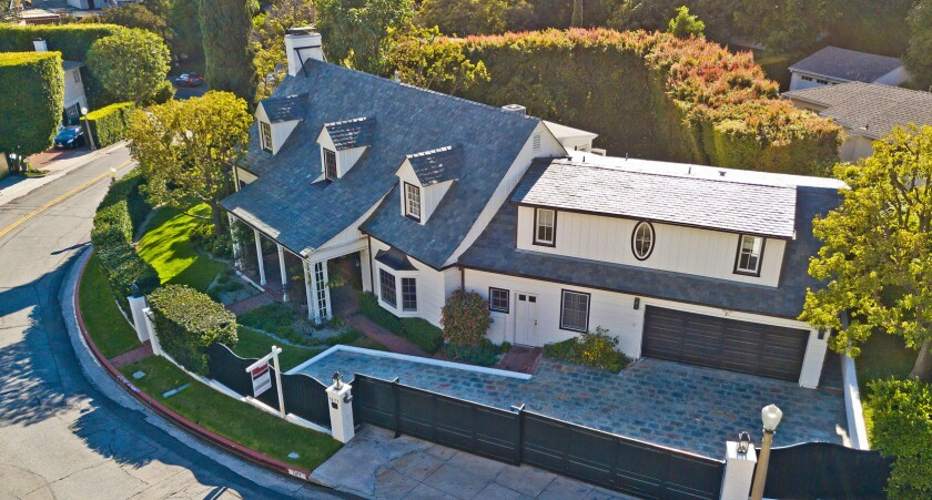 Groucho Marx's former Hollywood Hills home