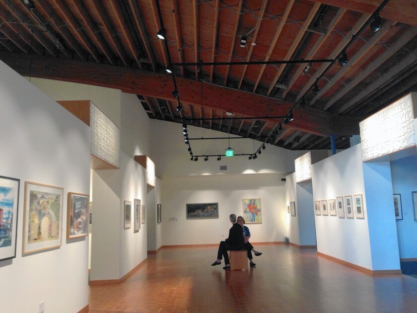 Cascadia Art Museum is housed in a 1960s-era Safeway supermarket, saved from destruction by its elegant midcentury modern bones and the region's intense eco-friendliness.