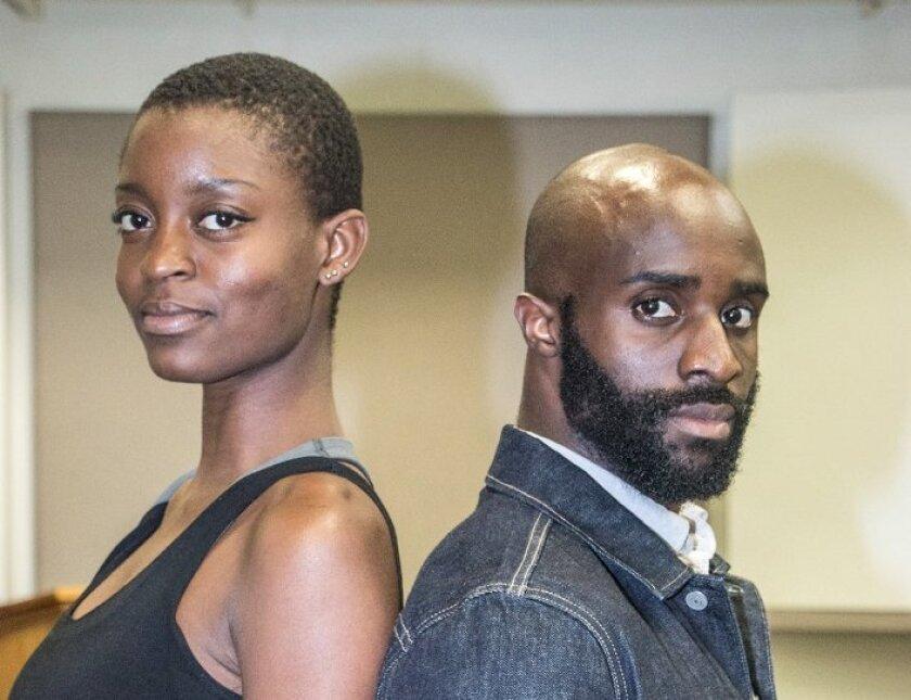 Antigone and Creon are played by Zakiya Markland and Toby Onwumere.