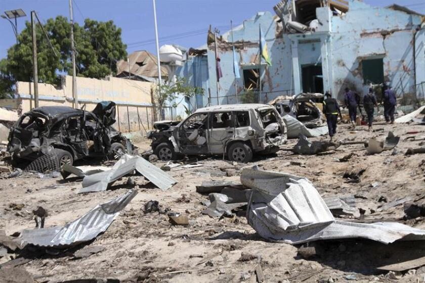 El Ejército bombardeó el pasado lunes posiciones de combatientes del grupo terrorista Al Shabab en Somalia, una operación en la que fallecieron tres presuntos yihadistas, informó hoy el mando militar para África (Africom). EFE/Archivo