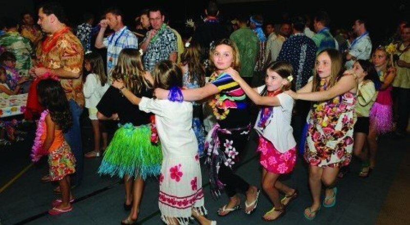 Girl Scout Troop 1008's father-daughter dance