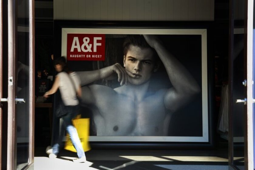 Abercrombie & Fitch earnigns stumble hard