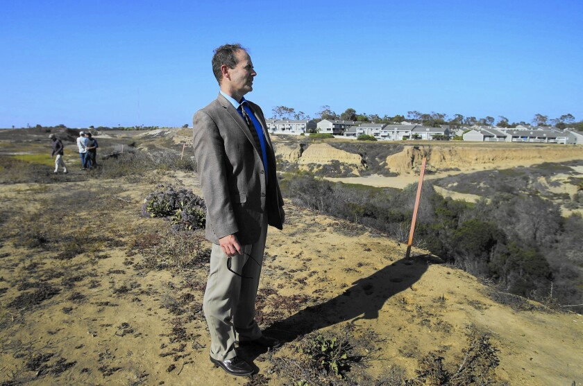 California Coastal Commission Executive Director Charles Lester, shown in 2014, asked for a public hearing on his future.