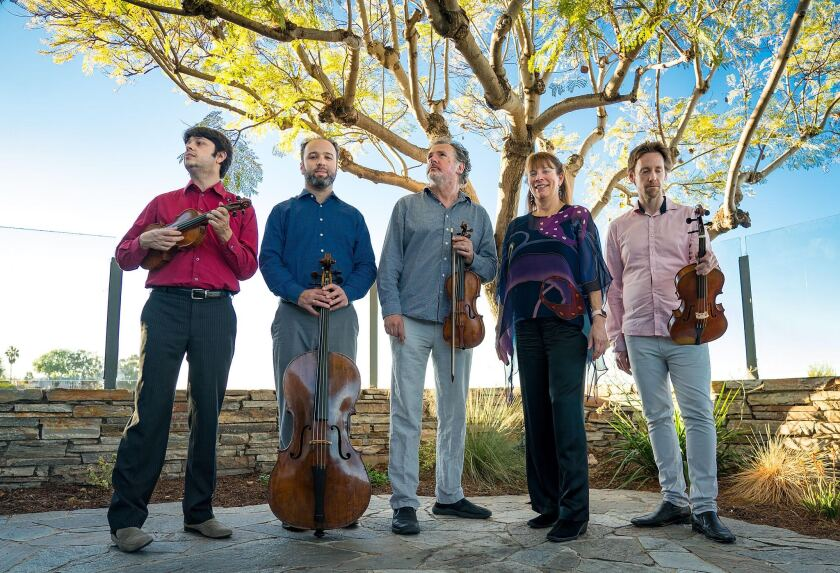 The Athenaeum Music & Arts Library will present a chamber concert featuring San Diego Baroque on Monday, May 24, online.