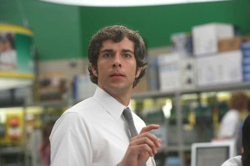 "Zachary Levi as Chuck Bartowski in NBC's ""Chuck."""